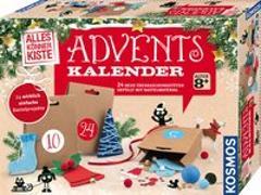 Cover-Bild zu Basteln Adventskalender 2019