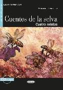 Cover-Bild zu Quiroga, Horacio: Cuentos de la selva. Buch + Audio-CD