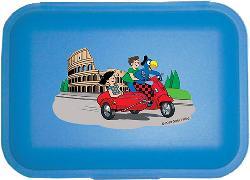 Cover-Bild zu Globi Lunchbox Rom blau