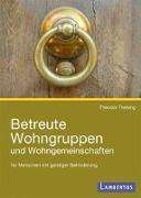 Cover-Bild zu Thesing, Theodor: Betreute Wohngruppen und Wohngemeinschaften für Menschen mit geistiger Behinderung