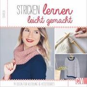 Cover-Bild zu Stricken lernen leicht gemacht von Korch, Katrin (Übers.)