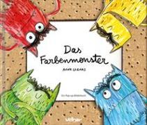 Cover-Bild zu Das Farbenmonster von Llenas, Anna