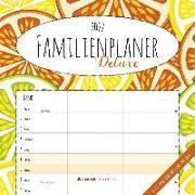 Cover-Bild zu ALPHA EDITION (Hrsg.): Familienplaner Deluxe 2022 - Broschürenkalender 30x30 cm (30x60 geöffnet) - Kalender mit Platz für Notizen - 5 Spalten - Bildkalender - Wandplaner