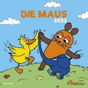Cover-Bild zu Alpha Edition (Hrsg.): Die Maus 2022 - Broschürenkalender 30x30 cm (30x60 geöffnet) - Kalender mit Platz für Notizen - inkl. Poster - Wandplaner - Bildkalender - Alpha Edition