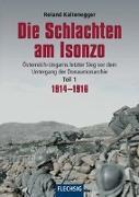 Cover-Bild zu Kaltenegger, Roland: Die Schlachten am Isonzo
