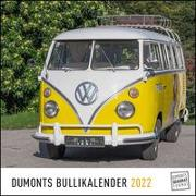 Cover-Bild zu DUMONT Kalender (Hrsg.): DUMONTS Bulli-Kalender 2022 - VW-Bus, Oldtimer, Retro - 24 x 24 cm im Quadratformat