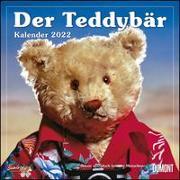Cover-Bild zu DUMONT Kalender (Hrsg.): Der Teddybär 2022 - Broschürenkalender - Wandkalender - Format 30 x 30 cm