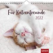 Cover-Bild zu Groh Verlag: Für Katzenfreunde 2022
