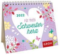 Cover-Bild zu Groh Verlag: Für mein Schwesterherz 2022