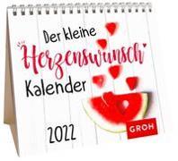 Cover-Bild zu Groh Verlag: Der kleine Herzenswunschkalender 2022