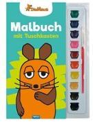 Cover-Bild zu Trötsch Verlag GmbH & Co. KG (Hrsg.): Trötsch Die Maus Malbuch mit Tuschkasten und Pinsel