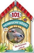 Cover-Bild zu Trötsch Verlag GmbH & Co. KG (Hrsg.): Trötsch Buch in Hausform 101 Heimische Vögel von A bis Z, die du kennen solltest
