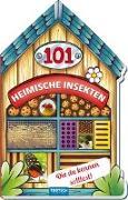 Cover-Bild zu Trötsch Verlag GmbH & Co. KG (Hrsg.): Trötsch Buch in Hausform 101 Heimische Insekten von A bis Z, die du kennen solltest