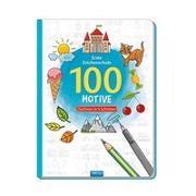 Cover-Bild zu Trötsch Verlag GmbH & Co. KG (Hrsg.): Trötsch Erste Zeichenschule 100 Motive Zeichnen in 4 Schritten Malbuch