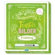 Cover-Bild zu Trötsch Verlag GmbH & Co. KG (Hrsg.): Trötsch Wunderschöne Fensterbilder mit Kreidemarker Frühjahr Mappe mit Vorlagen und Kreidemarker