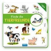 Cover-Bild zu Trötsch Verlag GmbH & Co. KG (Hrsg.): Pappbilderbuch Finde die Tierfreunde
