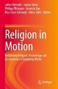 Cover-Bild zu Hensold, Julian (Hrsg.): Religion in Motion