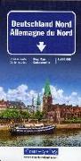 Cover-Bild zu Hallwag Kümmerly+Frey AG (Hrsg.): Deutschland Nord Strassenkarte. 1:500'000