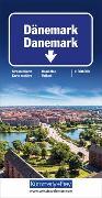 Cover-Bild zu Hallwag Kümmerly+Frey AG (Hrsg.): Dänemark. 1:300'000