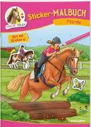 Cover-Bild zu Sticker-Malbuch Pferde von Walther, Max (Illustr.)