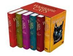 Cover-Bild zu Sammelbox Warrior Cats I, Bd. 1-6 (Kat Menschik) von Hunter, Erin