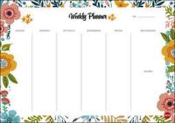 Cover-Bild zu Heye (Hrsg.): Weekly Planner Flowers DIN A4