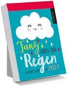 Cover-Bild zu myNOTES Abreißkalender Tanz durch den Regen 2021 - 365 bunte Ideen für 2021