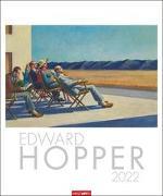 Cover-Bild zu Hopper, Edward: Edward Hopper Kalender 2022
