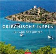 Cover-Bild zu Weingarten (Hrsg.): Griechische Inseln Kalender 2022