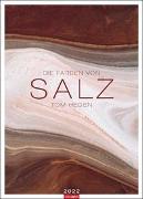 Cover-Bild zu Hegen, Tom: Die Farben von Salz Kalender 2022