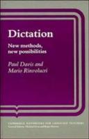 Cover-Bild zu Dictation von Paul Davis, Davis