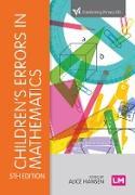 Cover-Bild zu Hansen, Alice: Children's Errors in Mathematics (eBook)