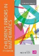 Cover-Bild zu Hansen, Alice (Hrsg.): Children's Errors in Mathematics