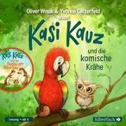 Cover-Bild zu Wnuk, Oliver: Kasi Kauz und die komische Krähe, Kasi Kauz und der Radau am Biberbau