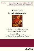 Cover-Bild zu Dante Alighieri: De vulgari eloquentia (eBook) von Alighieri, Dante