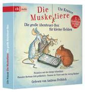 Cover-Bild zu Krause, Ute: Die Muskeltiere - Die große Abenteuer-Box für kleine Helden