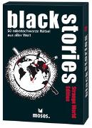 Cover-Bild zu black stories - Strange World Edition von Harder, Corinna