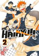 Cover-Bild zu Haikyu!! 02 von Furudate, Haruichi