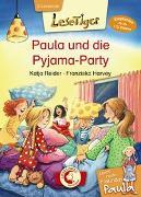 Cover-Bild zu Lesetiger - Meine beste Freundin Paula: Paula und die Pyjama-Party von Reider, Katja