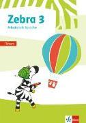 Cover-Bild zu Zebra 3. Arbeitsheft Fördern Klasse 3