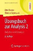 Cover-Bild zu Übungsbuch zur Analysis 2 von Forster, Otto