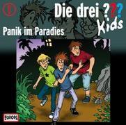Cover-Bild zu Die Drei ??? Kids (Folge 1) - Panik im Paradies von Blanck, Ulf