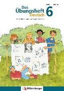 Cover-Bild zu Das Übungsheft Deutsch 6 von Drecktrah, Stefanie
