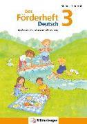 Cover-Bild zu Das Förderheft Deutsch 3 von Drecktrah, Stefanie