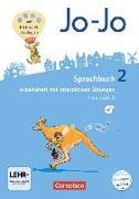 Cover-Bild zu Jo-Jo Sprachbuch 2. Schuljahr. Allgemeine Ausgabe. Arbeitsheft mit CD-ROM. GS von Brunold, Frido
