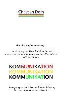 Cover-Bild zu Kommunikation (eBook) von Dorn, Christian
