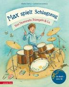 Cover-Bild zu Max spielt Schlagzeug von Simsa, Marko