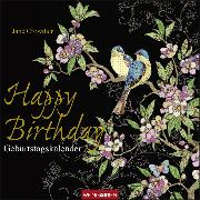 Cover-Bild zu Jane Crowther - Geburtstagskalender Happy Birthday