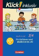 Cover-Bild zu Klick! inklusiv - Grundschule / Förderschule - Mathematik. 3./4. Schuljahr - Multiplizieren und dividieren von Burkhart, Silke