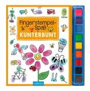 Cover-Bild zu Fingerstempel-Spaß Kunterbunt